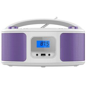 Cyberlux CD-Player CD/MP3 USB lila