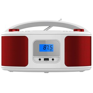 Cyberlux CD-Player CD/MP3 USB Rot