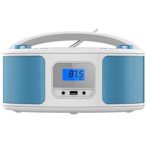 Cyberlux CD-Player CD/MP3 USB blau