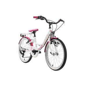 KS Cycling Kinderfahrrad 20'' Dandelion Alu Rahmen für Mädchen