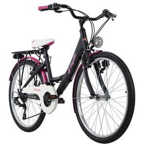 KS Cycling Kinderfahrrad 24'' Papilio für Mädchen