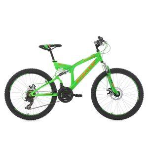 KS Cycling Kinder-Mountainbike Fully Xtraxx 24 Zoll für Jungen