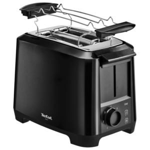 Tefal Toaster Uno Black TT1408DE, 800W schwarz