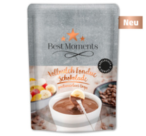 BEST MOMENTS Fondue Schokolade