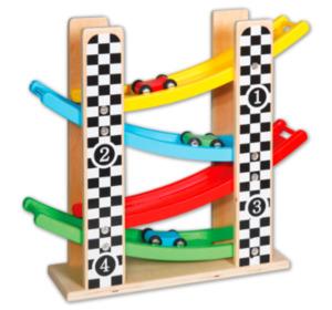 Holz-Rollbahn