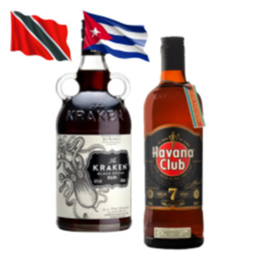 Havana Club 7 Jahre oder Kraken Spiced Rum