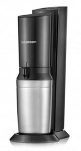 Sodastream Trinkwassersprudler Crystal 2.0 mit 3 Glaskaraffen ,  Promopack Titan