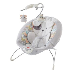Fisher Price Deluxe Babywippe im Hundedesign