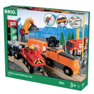 BRIO Großes Güterbahnhof-Set