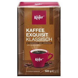 Käfer Exquisit Mahlkaffee 500 g
