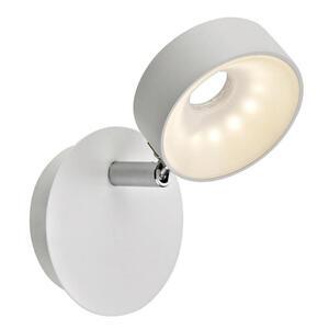 Novel Led-strahler , White Magic *sbn* , Weiß , Metall , 10x15.5x10 cm , matt, pulverbeschichtet , verstellbare Spotlights, Farbtemperaturwechsler , 008983000901
