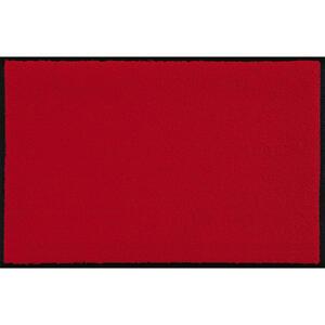 Esposa Fußmatte 60/180 cm uni rot , Scarlet , Textil , 60x180 cm , rutschfest, für Fußbodenheizung geeignet , 004336007096