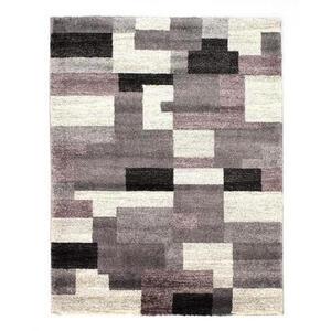 Novel Webteppich 80/150 cm grau, flieder , Astor Grid , Textil , 80x150 cm , in verschiedenen Größen erhältlich , 007946109354