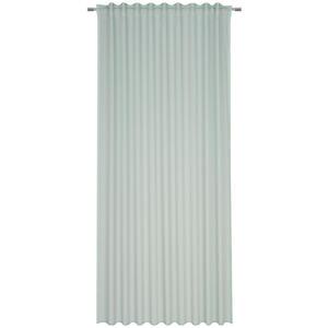 Esposa Fertigvorhang transparent 140/245 cm , Nora , Mintgrün , Textil , Uni , 140x245 cm , für Stange und Schiene geeignet, mit Kombiband , 007526008904