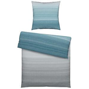 Boxxx Bettwäsche linon blau 155/220 cm , Bjarne , Textil , Streifen , 155x220 cm , Linon , atmungsaktiv, hautfreundlich, schadstoffgeprüft, weiche und anschmiegsame Oberfläche , 005836011202