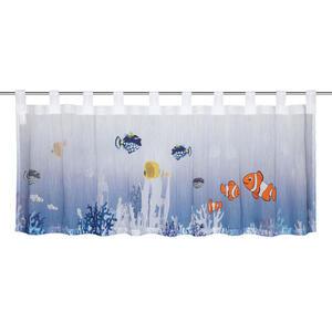 Esposa KURZGARDINE 140/45 cm , Aqua , Multicolor , Textil , 140x45 cm , 003115034601