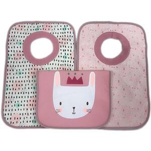My Baby Lou Lätzchen , Lätzchen , Rosa , Textil , Animalprint , 25x38 cm , Textilgeflecht , 007162006601