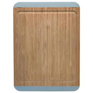 Homeware Profession. Schneidebrett holz, kunststoff bambus , Hp90094L , Braun, Grau , massiv , 28x39.5 cm , Natur,softmatt,Echtholz , Saftrille , 006593003501