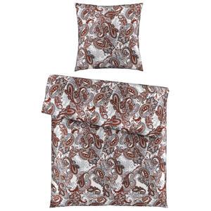 Ambiente Bettwäsche satin rot 135/200 cm , Paris , Textil , Paisley , 135x200 cm , Satin , 004378009804