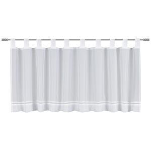 Esposa KURZGARDINE 140/45 cm , Hemstitch , Weiß , Textil , 140x45 cm , 003115024901