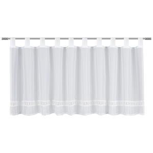 Esposa KURZGARDINE 140/45 cm , Confine , Weiß , Textil , 140x45 cm , 003115025301