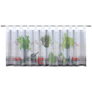 Esposa KURZGARDINE 150/45 cm , Italo , Grün , Textil , 150x45 cm , 003115052401