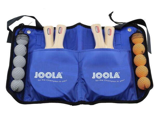 JOOLA Tischtennis-Set »Family«, Tischtennisschläger, Bälle, Aufbewahrungstasche