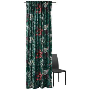 Ambiente FERTIGVORHANG 135/245 cm , LE Fleur , Grün , Textil , Blume , 135x245 cm , Samt , 003115053702