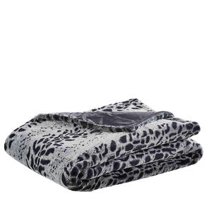 Ambiente Felldecke 150/200 cm grau , Ozelot , Textil , Tier , 150x200 cm , Webpelz , pflegeleicht, Double face , 008982021601