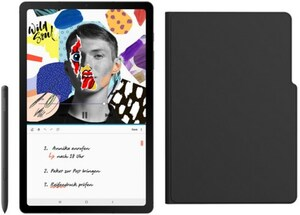 Galaxy Tab S6 Lite WiFi Tablet oxford gray inkl. Anymode Book Cover