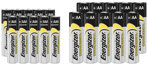 Industrial Micro(AAA) 10 Stück + Mignon (AA) 10 Stück + 16 GB 2.0 USB Stick Energizer