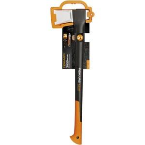 Fiskars Spaltaxt X25 + Cuttermesser 18mm Set Kopfgewicht 1830 g