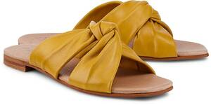 Ten Points, Pantolette Madeleine in gelb, Sandalen für Damen