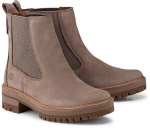 Timberland, Boots Courmayeur in taupe, Boots für Damen