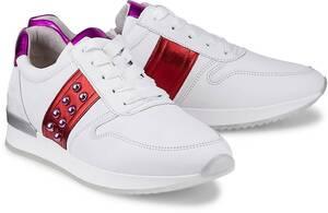 Gabor, Trend-Sneaker in weiß, Schnürschuhe für Damen