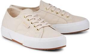 Superga, Sneaker Cotu Classic in beige, Schnürschuhe für Damen