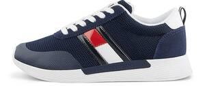Tommy Jeans, Sneaker Technical Flexi Runner in dunkelblau, Sneaker für Damen