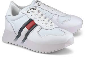 Tommy Jeans, Sneaker Corporate in weiß, Sneaker für Damen