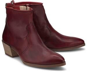 Paul Green, Western-Boots in rot, Boots für Damen