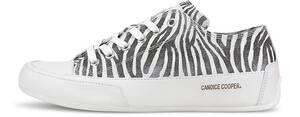 Candice Cooper, Sneaker Rock in weiß, Schnürschuhe für Damen