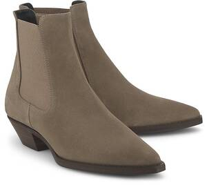 Copenhagen, Chelsea-Boots Cph 733 in helles taupe, Stiefeletten für Damen