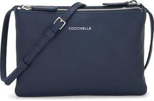 Coccinelle, Umhängetasche Coralie in dunkelblau, Umhängetaschen für Damen