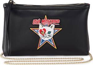 Love Moschino, Umhängetasche Ki0 in schwarz, Umhängetaschen für Damen