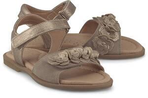Clic, Klett-Sandale in gold, Sandalen für Mädchen