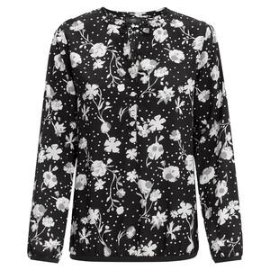 Damen Bluse mit floralem Allover