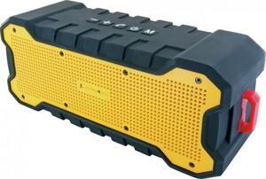 """SCHWAIGER Bluetooth Lautsprecher """"schwarz/gelb"""""""