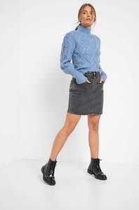 Jeansrock mit Seitentaschen