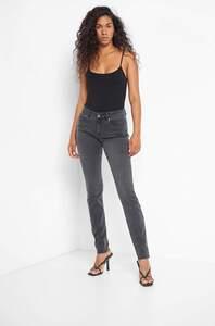 Mid Waist Slim Jeans