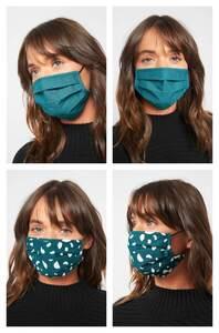 Mund-Nasen-Maske im 2er Pack