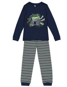 Jungen Pyjama Set aus Langarmshirt und Hose